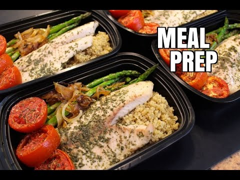 How to Meal Prep - Ep. 14 - TILAPIA ($5/Meal)