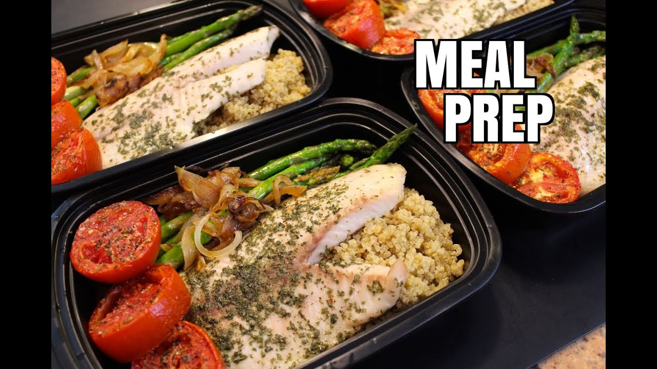 How to meal prep ep 14 tilapia 5 meal youtube for Fish meal ideas