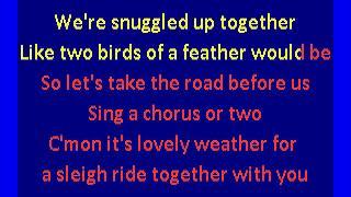 TLC - Sleigh Ride (karaoke)