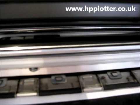 HP DesignJet 5000 repairs - Check print head path error