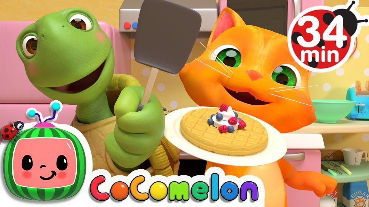 Breakfast Song   +More Nursery Rhymes & Kids Songs - CoCoMelon