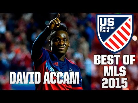 David Accam ● Skills, Goals, Highlights MLS 2015 ● US Soccer Soul | HD