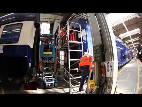 ZVV Train-Branding Making-Of