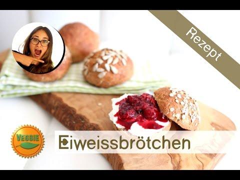Proteinbrötchen – Eiweißbrot selber machen – Gesundes Rezept ohne Supplements – Ideal zum mitnehmen