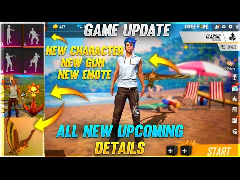 All New Updates - New Gun, New Emote, New Character & More || Free Fire - Desi Gamers - OB22 UPDATE