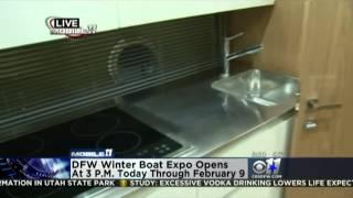 CBS KTVT 06:49 AM 1/31/14 DFW Boat Show