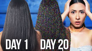 I Used A Best Selling Hair Mask For Super Silky Shiny Hair For A Month