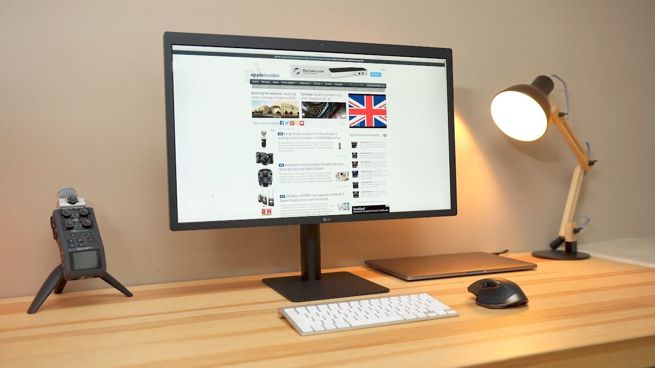 Review 27 Quot Lg Ultrafine 5k Display Youtube