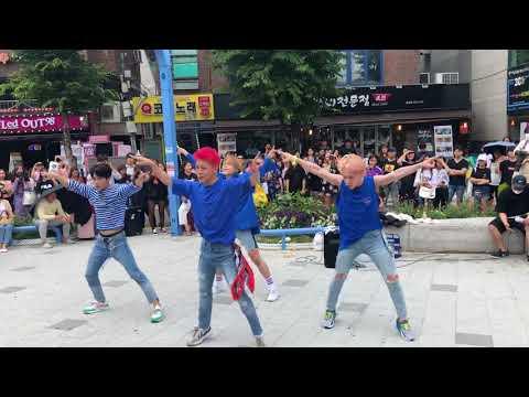 180609 ACE Hongdae Busking | Take Me Higher