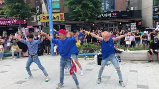 180609 ACE Hongdae Busking | Take Me Higher