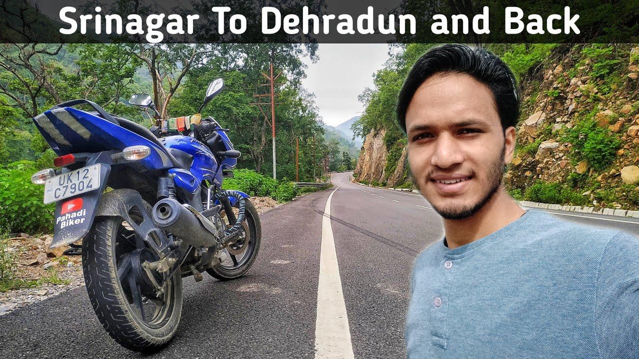 Srinagar To Dehradun and Back    Uttarakhand all weather road work    By Alok Rana    Pahadi Biker