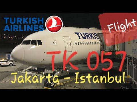 Turkish Airlines TK 57 Jakarta - Istanbul | Boeing 777-300ER Flight Experience