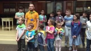 Квест для детей в рамках открытия
