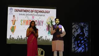 Department of Technology, Shivaji University, Kolhapur Symphony 2018
