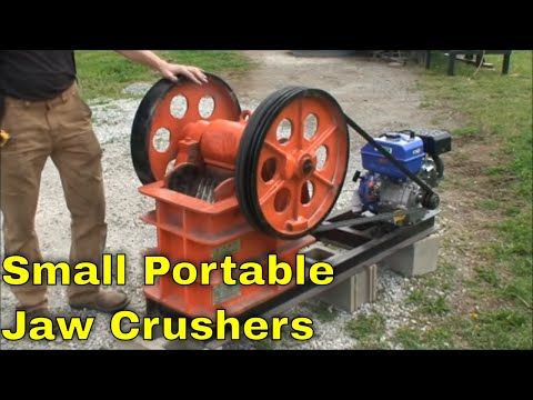 Small Portable Jaw Crusher For Mining, Concrete, Recycling, Rock Crushing MBMM
