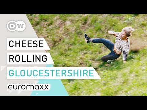 The World's Craziest Competition: Gloucestershire Cheese Rolling at Cooper's Hill | Quirky Customs