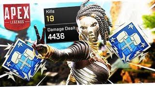 I FINALLY Got the 4,000 Damage Badge! - My Best Apex Legends Game!