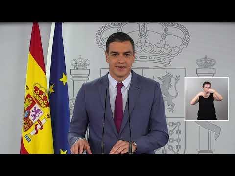 Sánchez anuncia la nueva composición del Ejecutivo