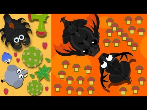 MOPE.IO / ELEPHANT TO PTERODACTYL EASY TO LEVEL UP / BD VS KING DRAGON FIGHT (Reupload)