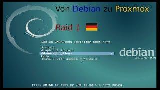Proxmox | auf Debian installieren mit Raid 1 (Deutsch)