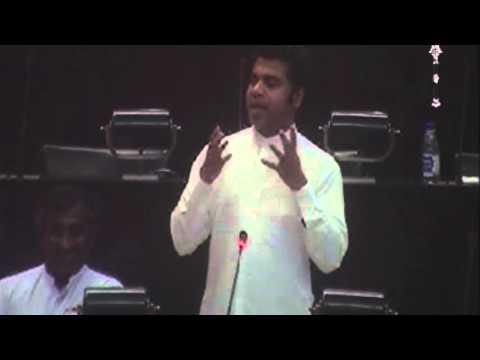 Dr.Nalinda Jayathissa Parliament speech on 24.02.2016