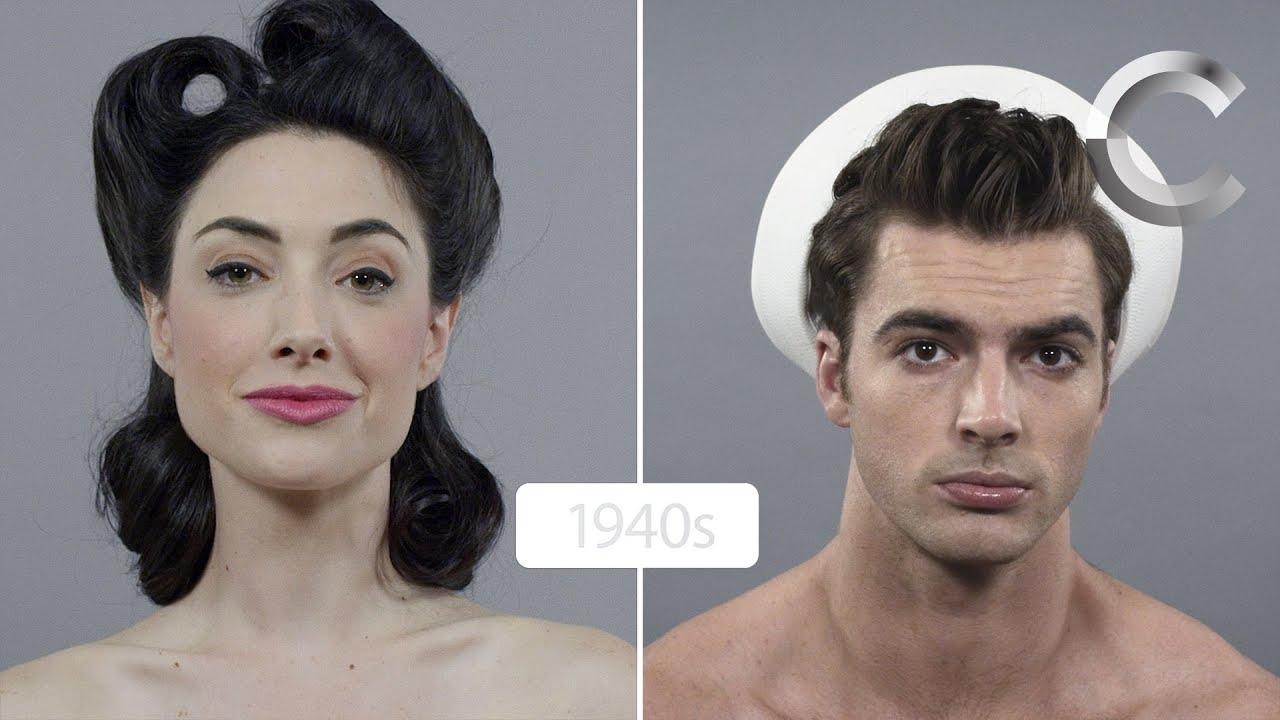 Jak Zmieniały Się Męskie I Damskie Fryzury Video