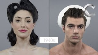 100 Years of Beauty: USA (Men and Women) Side by Side
