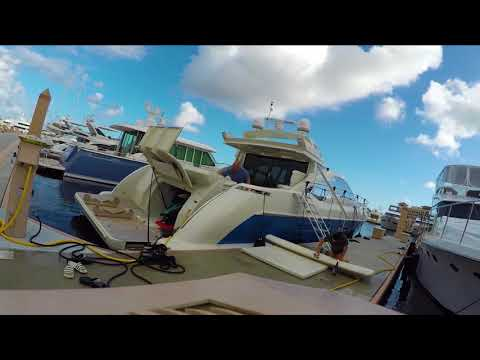 The reality of yachting. Yacht maintenance time lapse. Featuring Diesel Girl.
