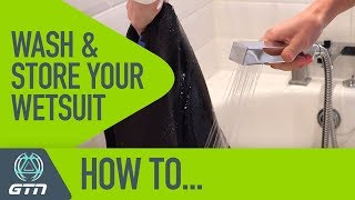 How To Look After Your Wetsuit | Wash And Store Your Wetsuit Correctly