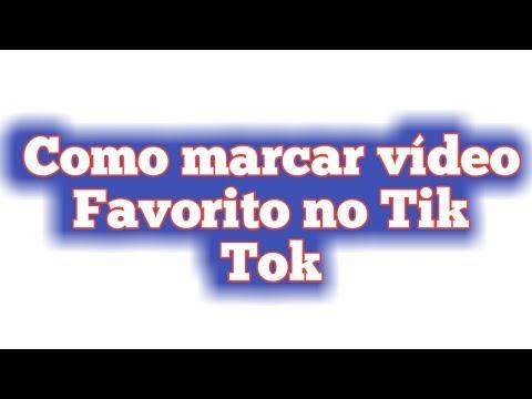 como-marcar-vídeo-favorito-no-tik-tok