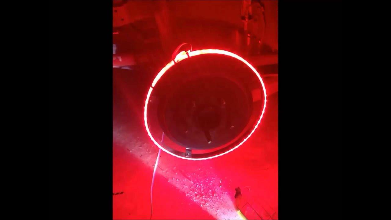 Oracle Led Wheel Lights Colorshift Youtube