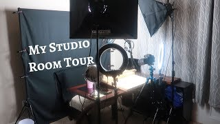 ASMR STUDIO ROOM TOUR & LET'S TALK UP AND COMING PROJECTS ~ Eat Life With Kimchi