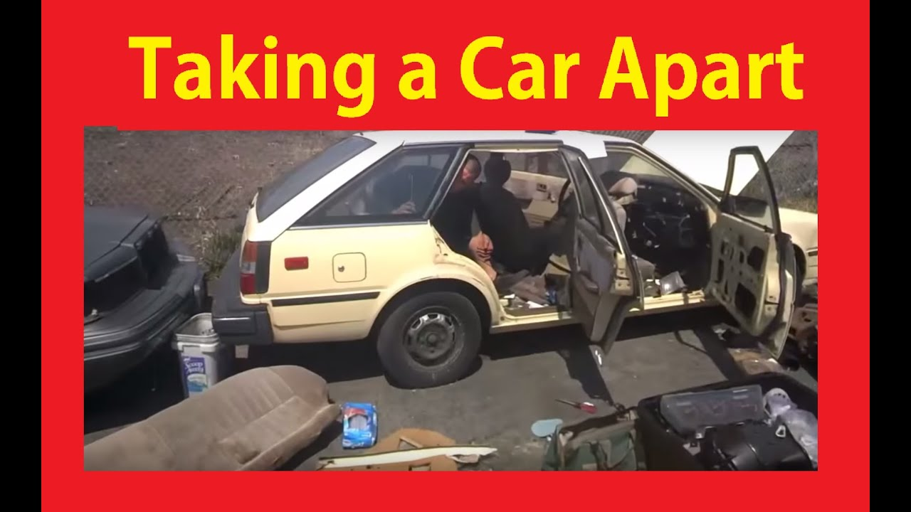 Take Apart Scrap Car Parting Out Cars Disassembly Video #4 - YouTube