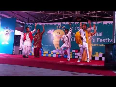 Anjali International Children festival ( Special Children From SSA Faridkot And Amritsar Punjab) Travel Video