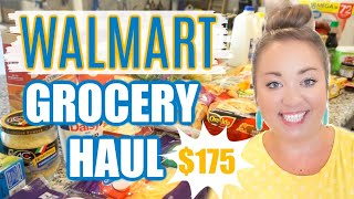 HUGE WALMART GROCERY HAUL | WEEKLY GROCERIES, FRIDGE AND PANTRY RESTOCK | JESSICA O'DONOHUE