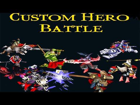 Warcraft 3 REFORGED | Custom Hero Battle | Archimonde With Lightsaber
