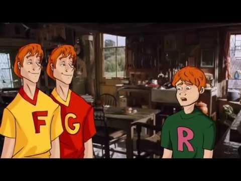 Гарри Поттер и феерия Икотики. Все смешные моменты в одном видео!