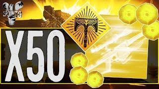 Destiny: OPENING 50 EXOTIC ENGRAMS - RISE OF IRON EXOTIC ENGRAM OPENING