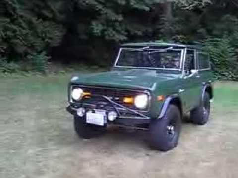 1974 BRONCO ARMY GREEN RANGER - YouTube