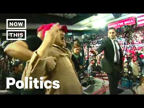 Trump Supporter Attacks Journalist at El Paso Rally | NowThis Mp3