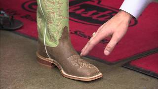 Getting the Right Fit in Justin Boots