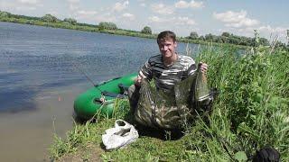 Бешенный клёв Горбачей на Спиннинг Рыбалка на Озере с Лодки