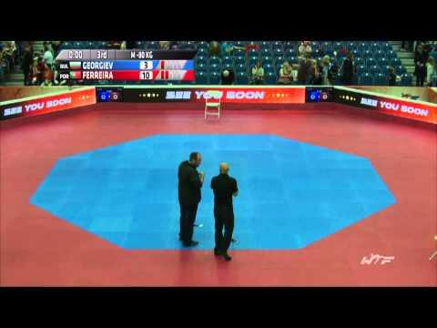 World Taekwondo Grand Prix - Manchester 2015 - Day 3 Ring 1 preliminary rounds F -49 / M -80