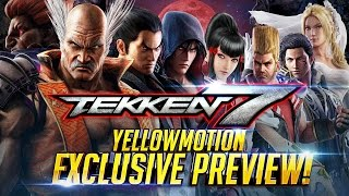 SPOILER FREE - TEKKEN 7 Exclusive Hands On Preview - Playstation 4 PRO Console 4K/60FPS『 鉄拳7 철권7』