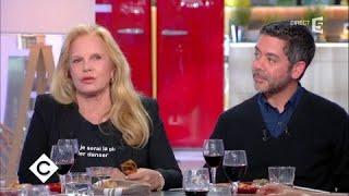 Manu Payet et Sylvie Vartan au dîner - C à vous - 12/09/2017