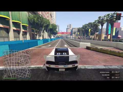 GTA 5 - Skyline Raceway 2.0 (C) - Streckenvorstellung mit Boxengasse