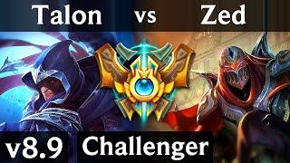 Video TALON vs ZED (MID) ~ Legendary, 700+ games, KDA 13/2/1 ~ Korea Challenger ~ Patch 8.9 download MP3, 3GP, MP4, WEBM, AVI, FLV Juli 2018