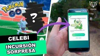 ANALIZANDO A CELEBI + INCURSIÓN SORPRESA - Pokemon Go [LioGames]
