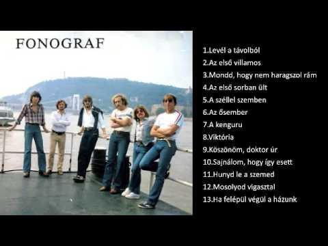 Fonográf együttes  Válogatás 1974  1978