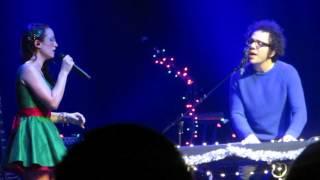 Скачать Ingrid Michaelson Holiday Hop 12 10 2014 Webster Hall Over You Feat Great Big World